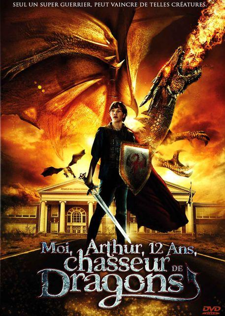 affiche du film Moi, Arthur, 12 ans, chasseur de dragons