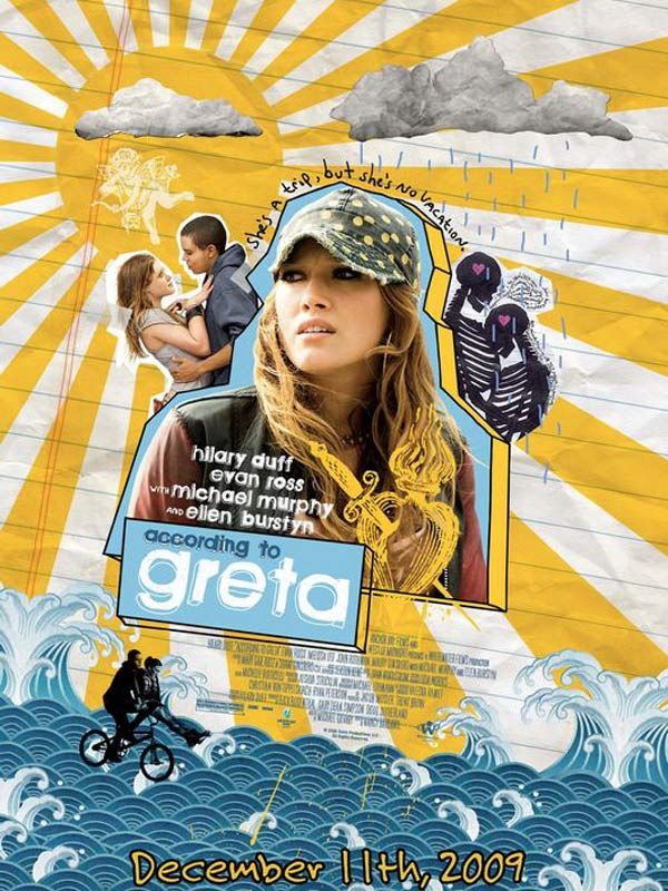 affiche du film According to Greta