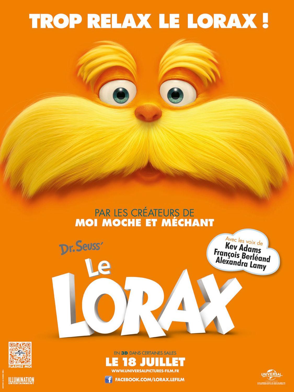 affiche du film Le Lorax