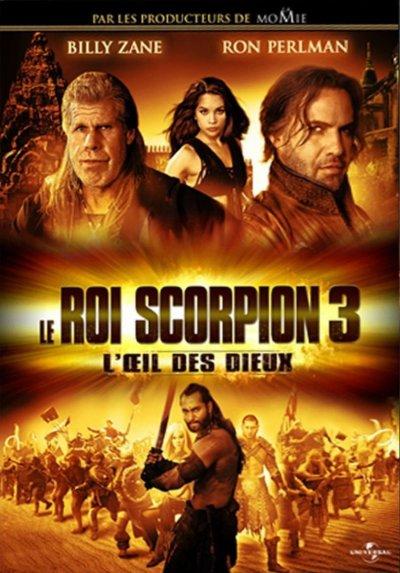 affiche du film Le roi Scorpion 3: combat pour la rédemption