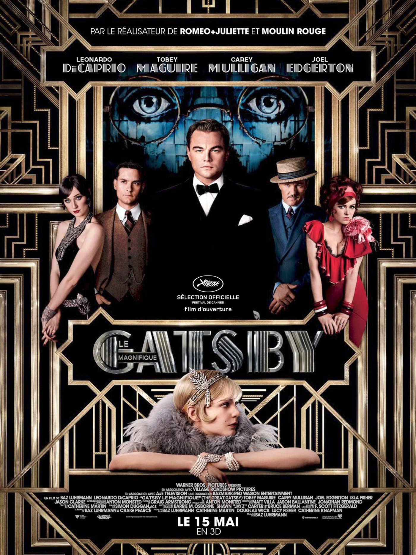 affiche du film Gatsby le magnifique (2013)