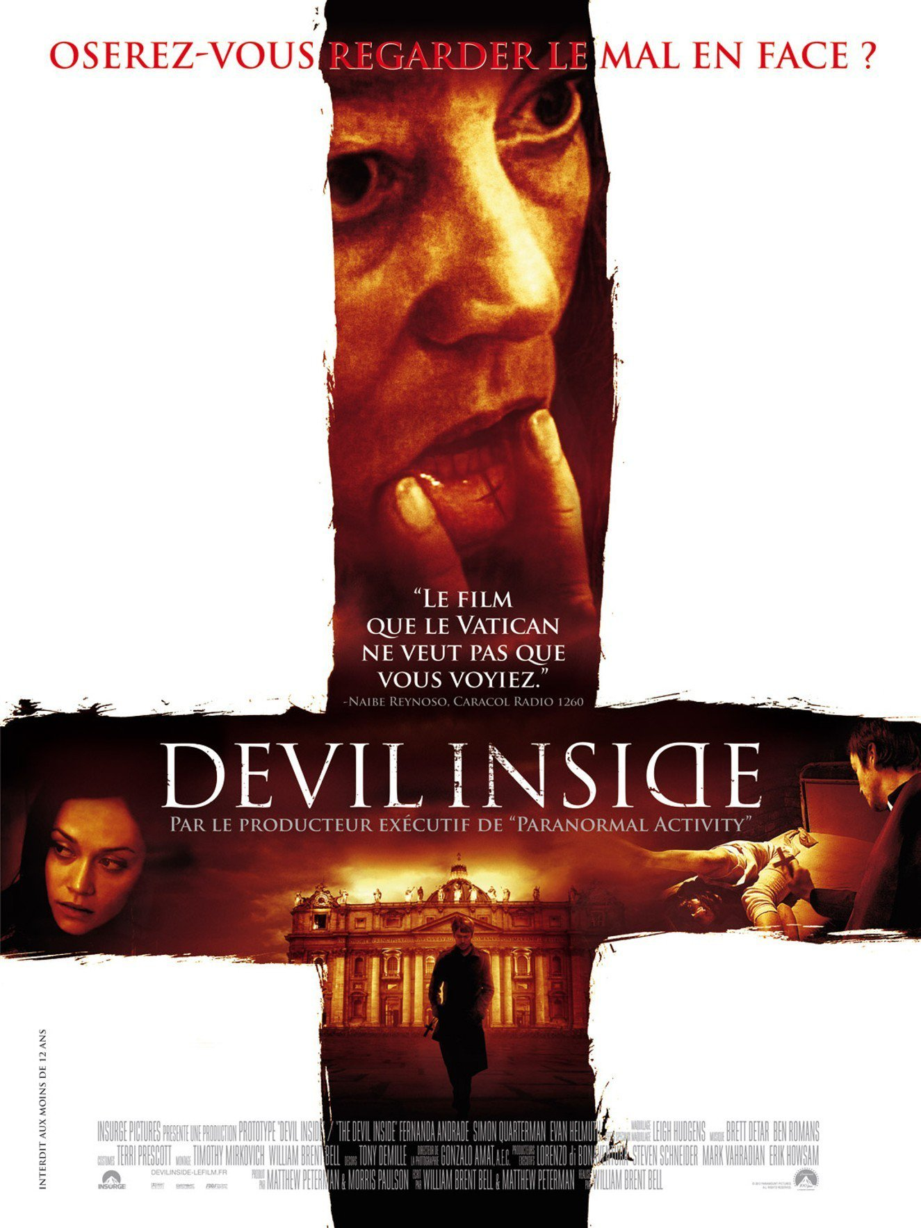 affiche du film Devil Inside