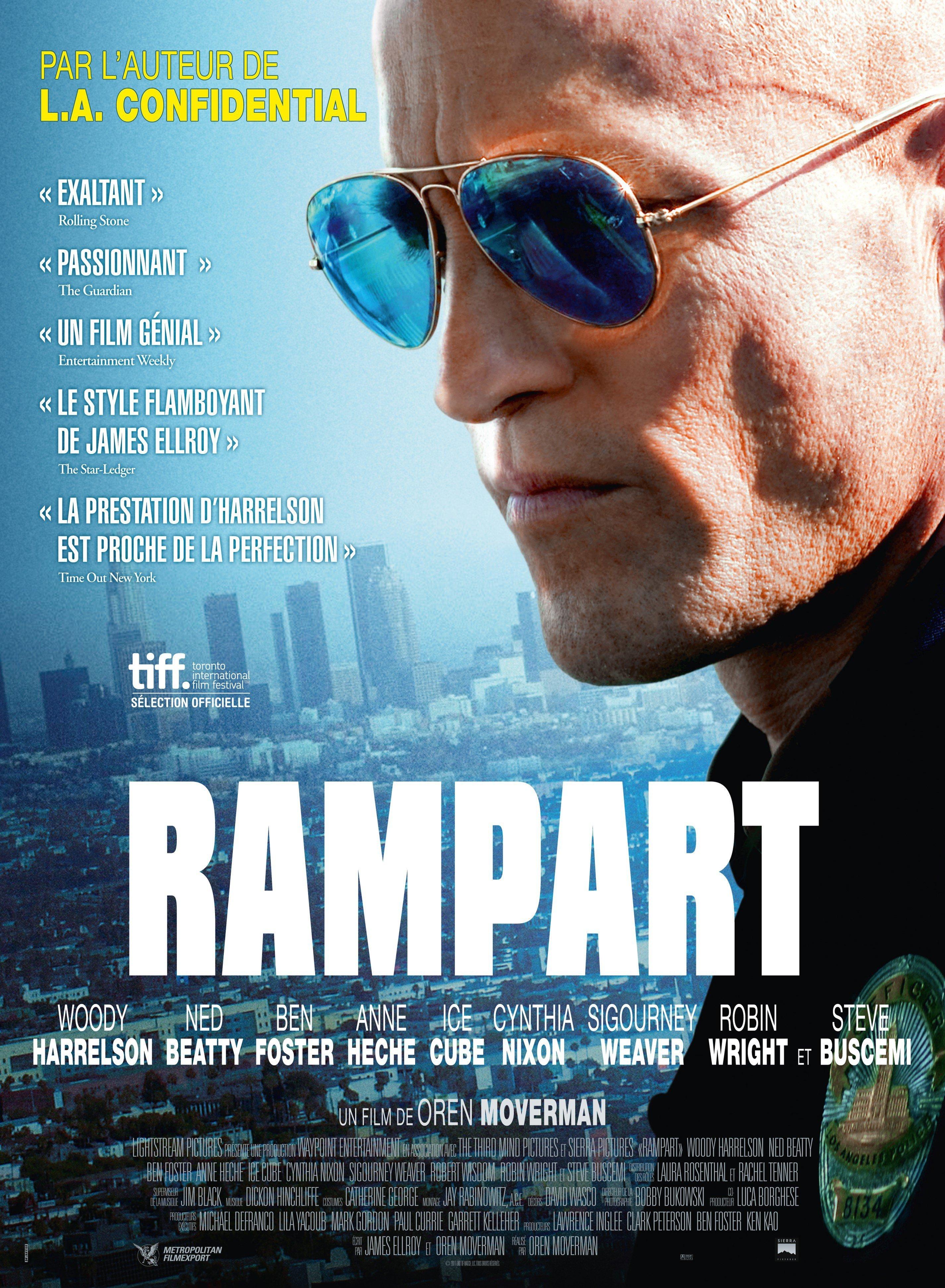 affiche du film Rampart