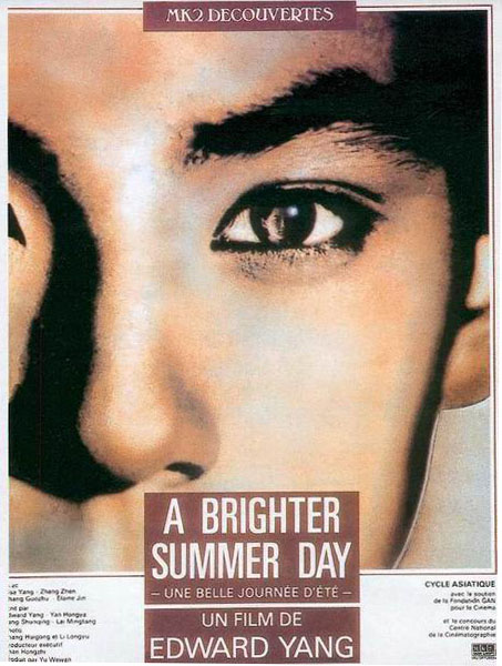 affiche du film A Brighter Summer Day