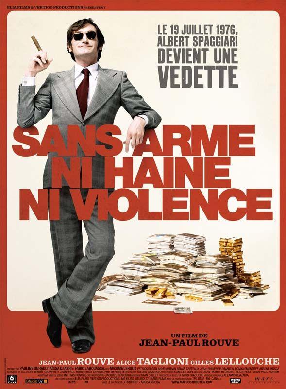 affiche du film Sans arme, ni haine, ni violence