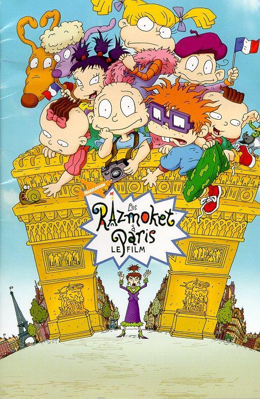 affiche du film Les Razmoket à Paris, le film