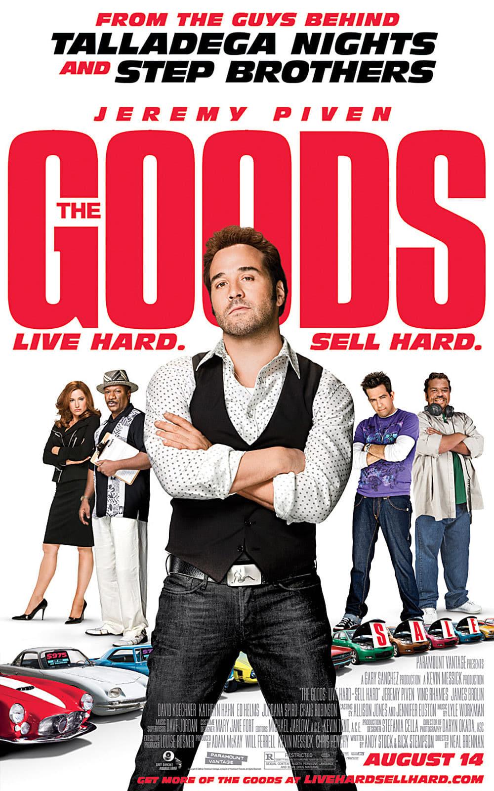 affiche du film The Goods: Live Hard, Sell Hard