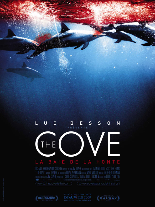 affiche du film The Cove: La baie de la honte