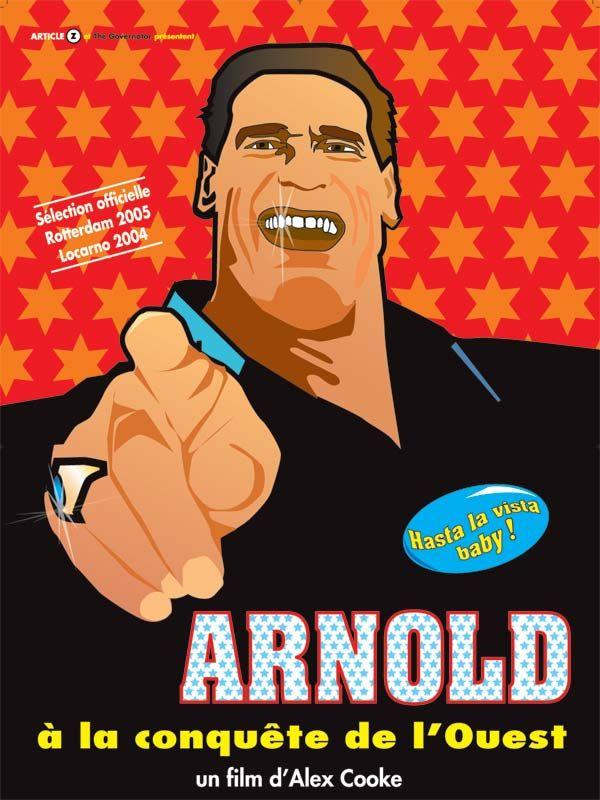 affiche du film Arnold à la conquête de l'ouest