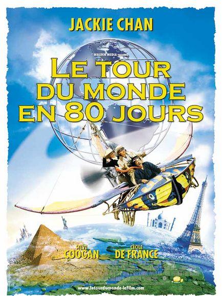 affiche du film Le tour du monde en 80 jours (2004)