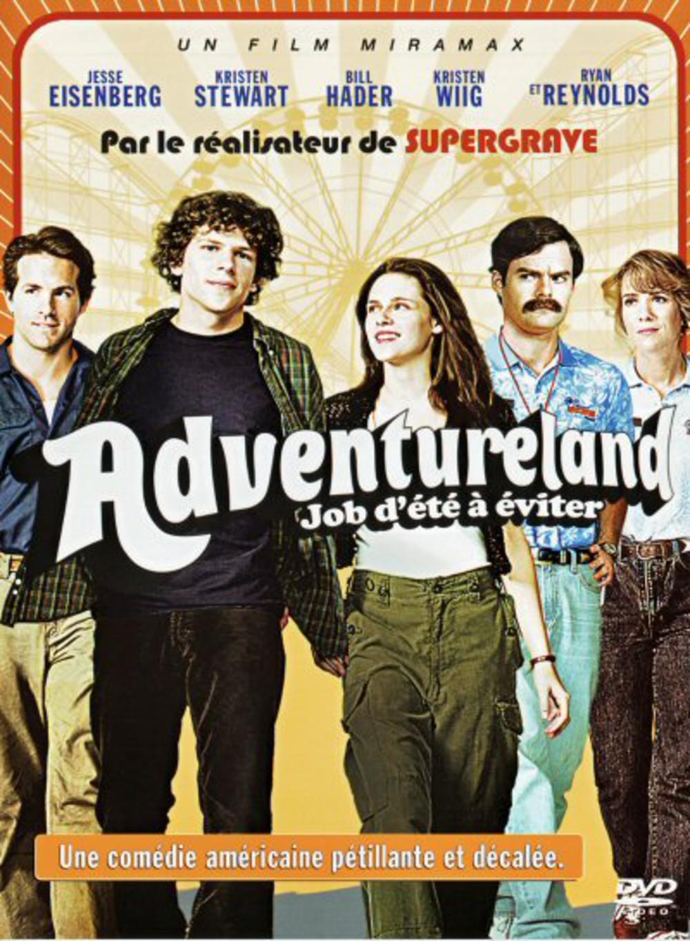 affiche du film Adventureland - Job d'été à éviter