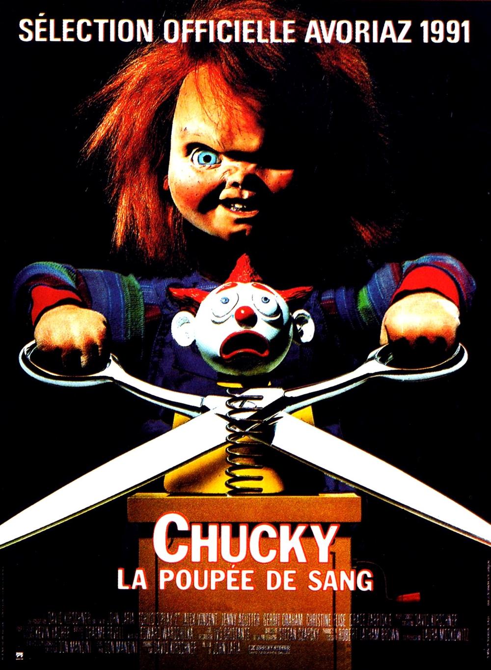 affiche du film Chucky, la poupée de sang