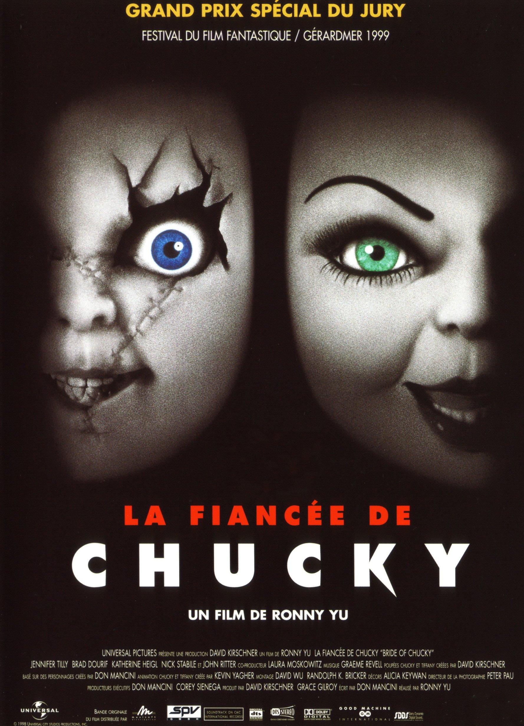 affiche du film La Fiancée de Chucky