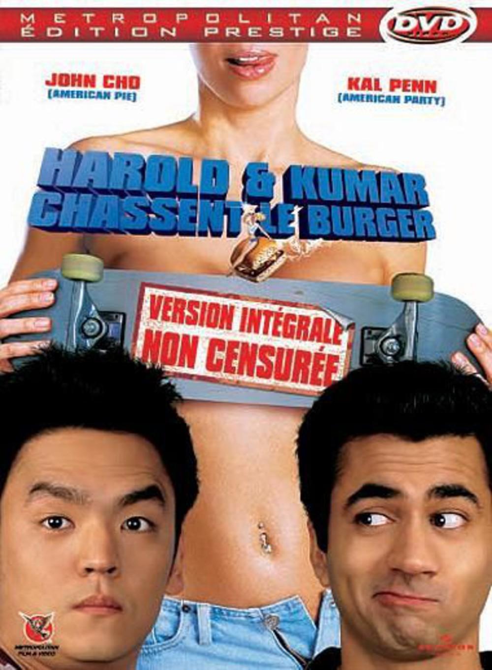 affiche du film Harold & Kumar chassent le burger