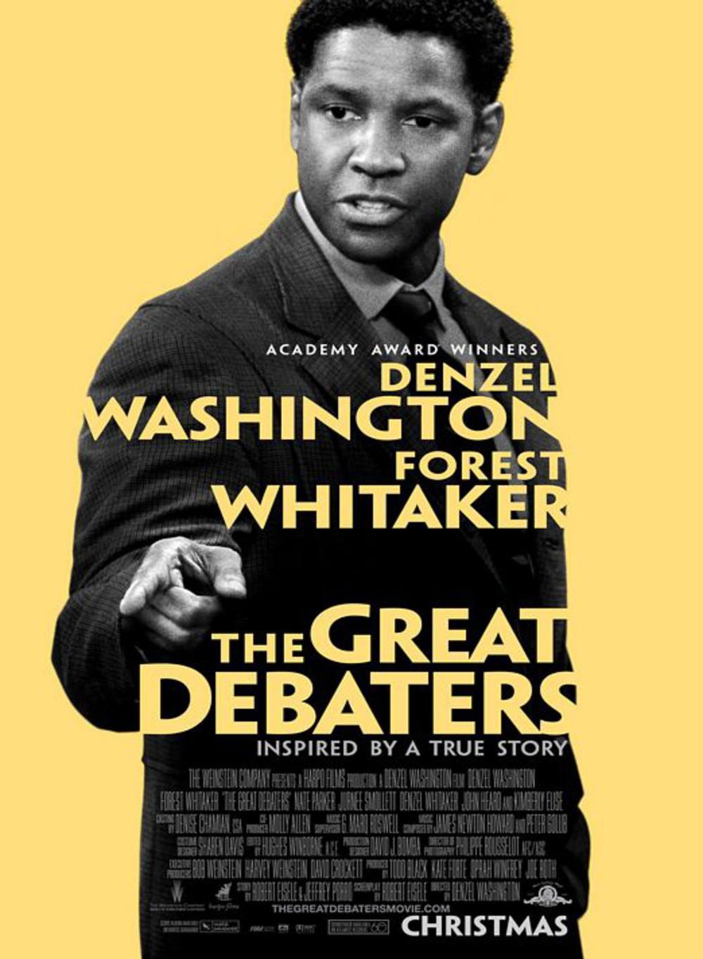affiche du film The Great Debaters