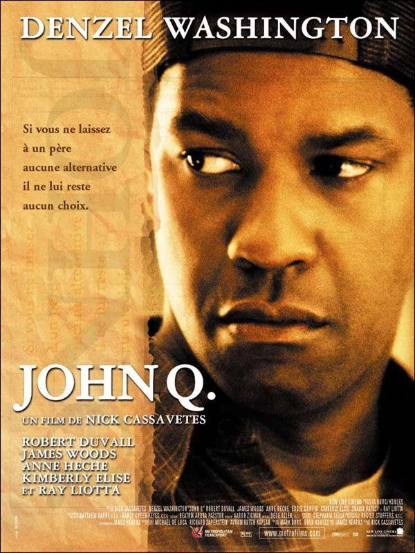 affiche du film John Q.