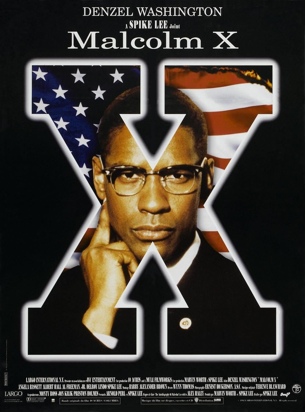 affiche du film Malcolm X