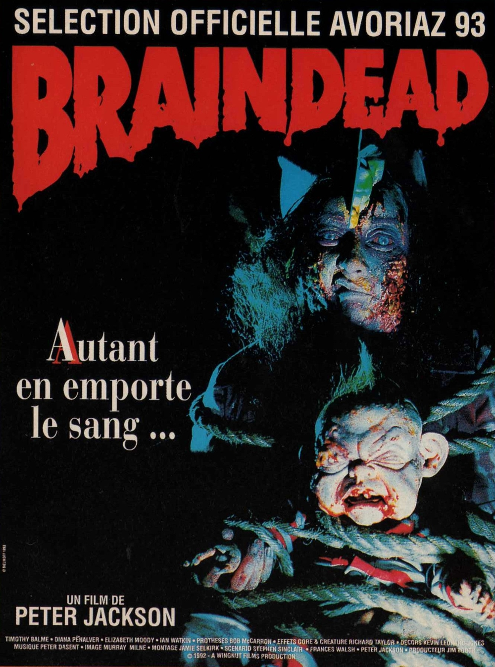affiche du film Braindead