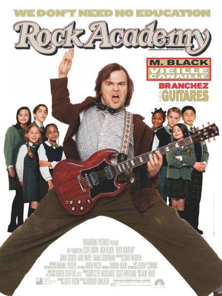 affiche du film Rock Academy