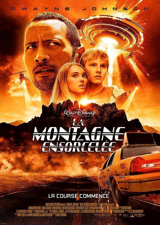 affiche du film La montagne ensorcelée