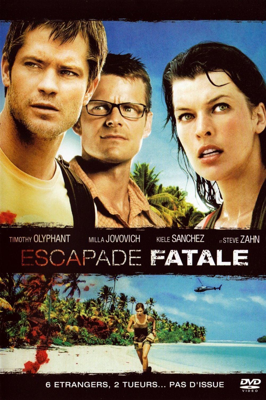 affiche du film Escapade fatale