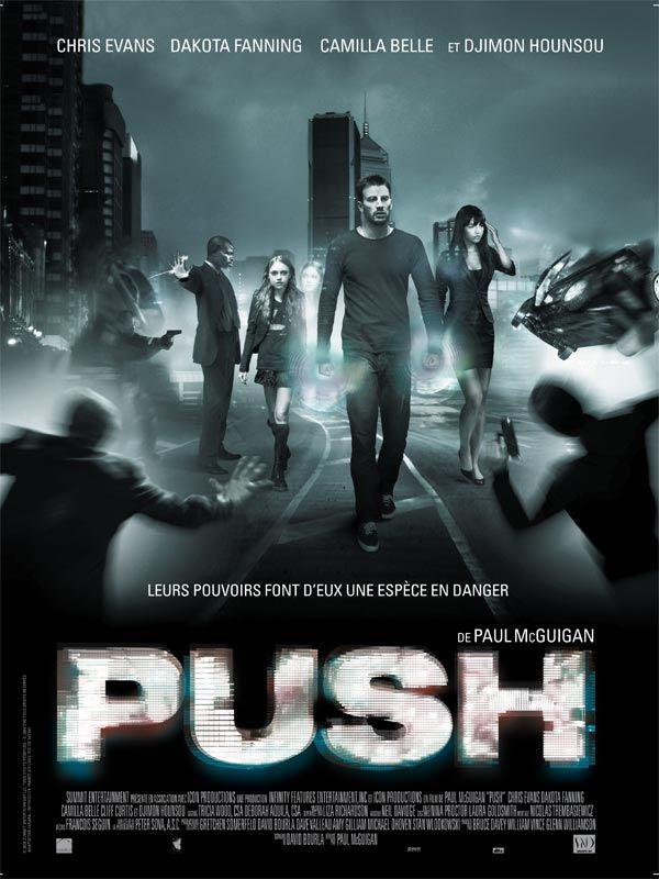 affiche du film Push
