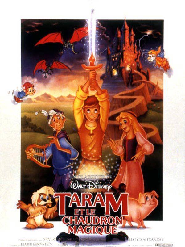 affiche du film Taram et le chaudron magique