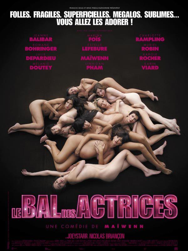 affiche du film Le bal des actrices