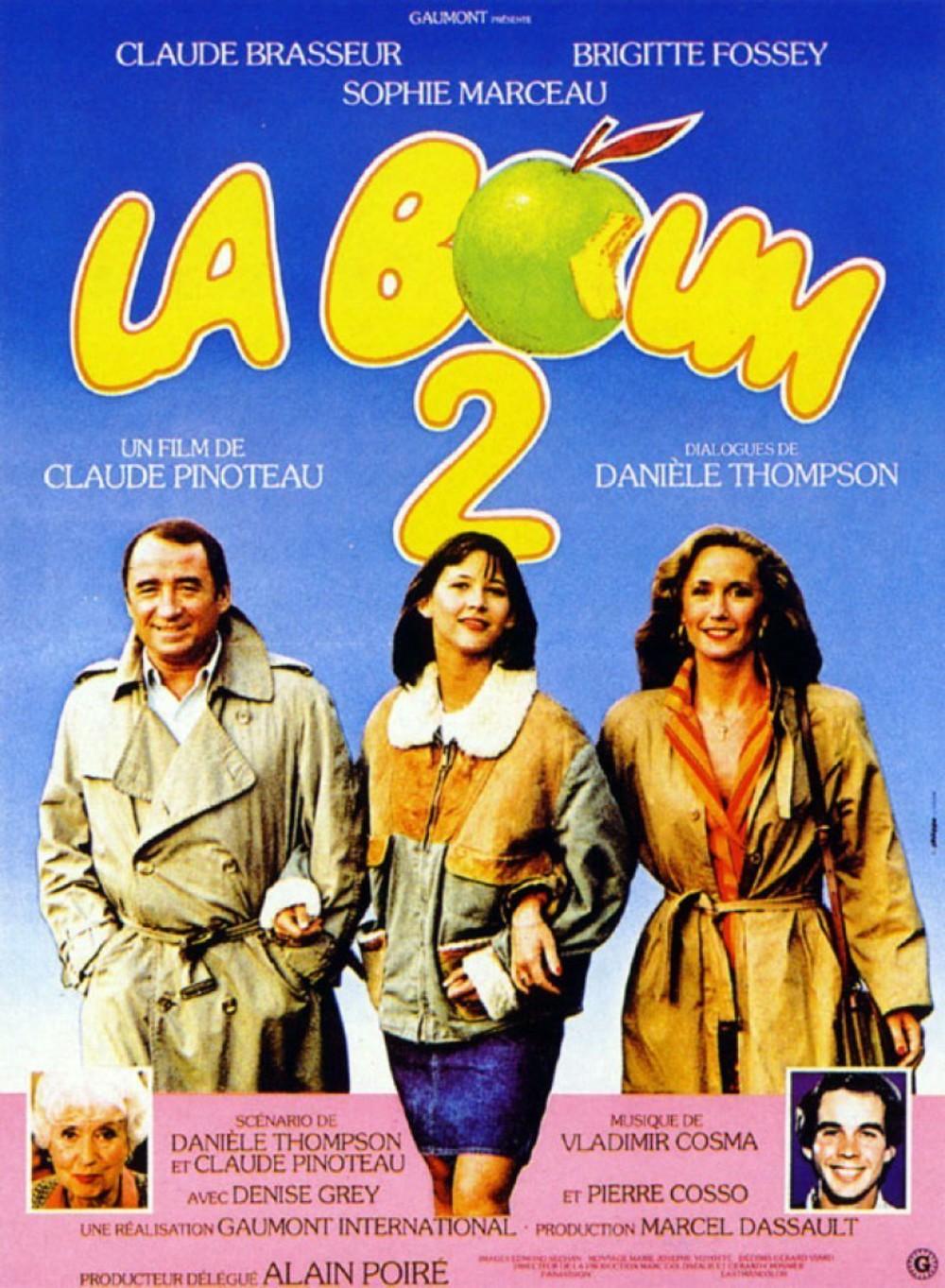 affiche du film La boum 2