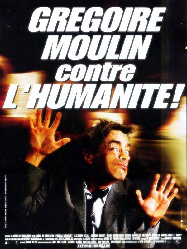 affiche du film Grégoire Moulin contre l'humanité