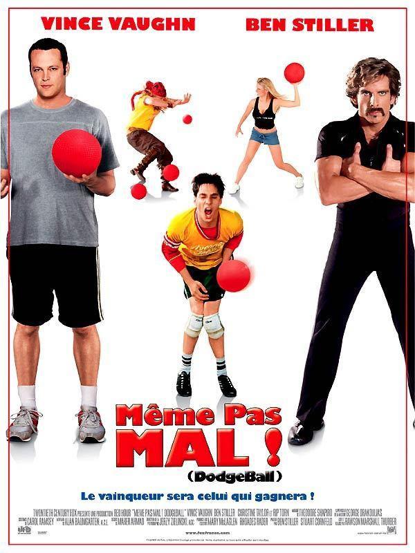affiche du film Dodgeball : Même pas mal !