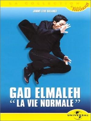 affiche du film Gad Elmaleh: La vie normale