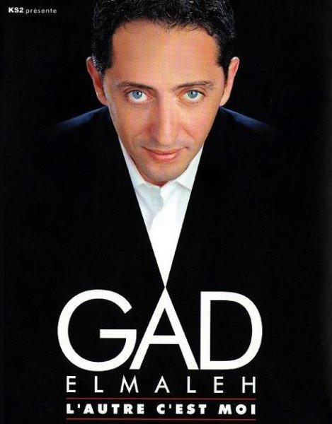 affiche du film Gad Elmaleh : L'autre c'est moi