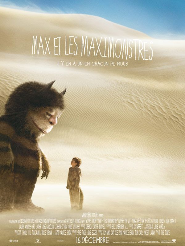 affiche du film Max et les Maximonstres