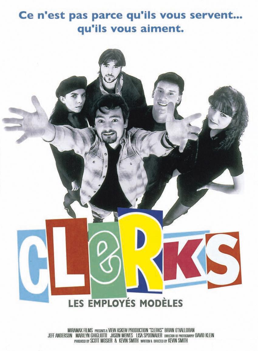 affiche du film Clerks, les employés modèles
