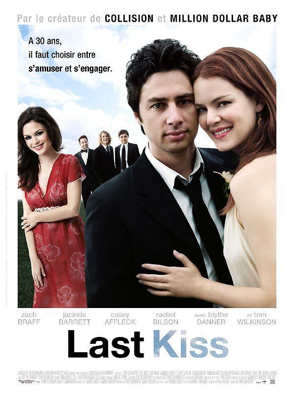 affiche du film Last Kiss
