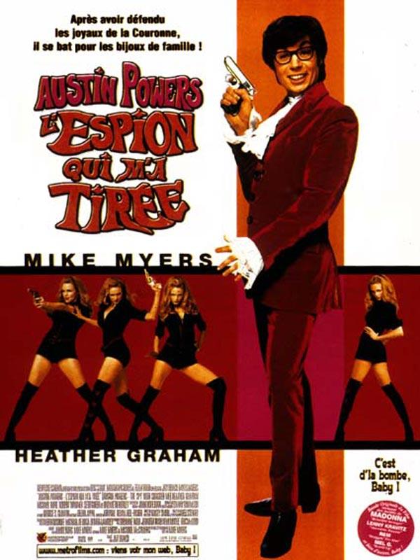 affiche du film Austin Powers : L'espion qui m'a tirée