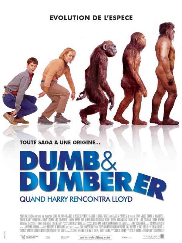 affiche du film Dumb & Dumberer : Quand Harry rencontra Lloyd