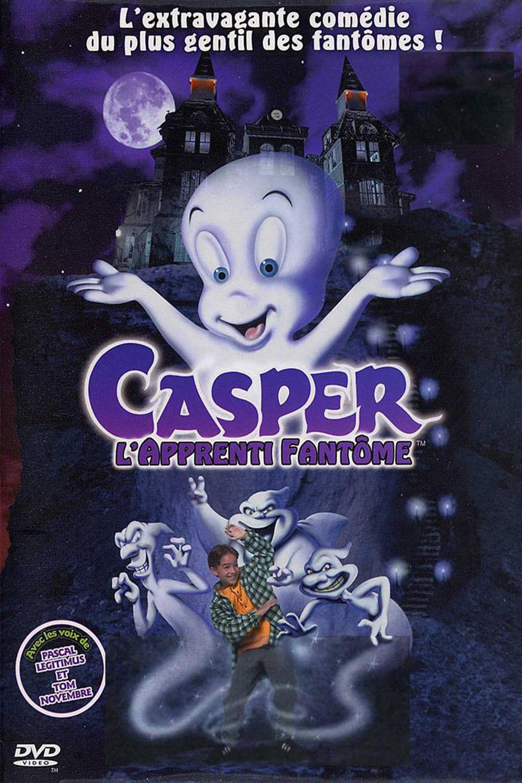 affiche du film Casper, l'apprenti fantôme