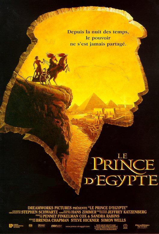 affiche du film Le prince d'Egypte