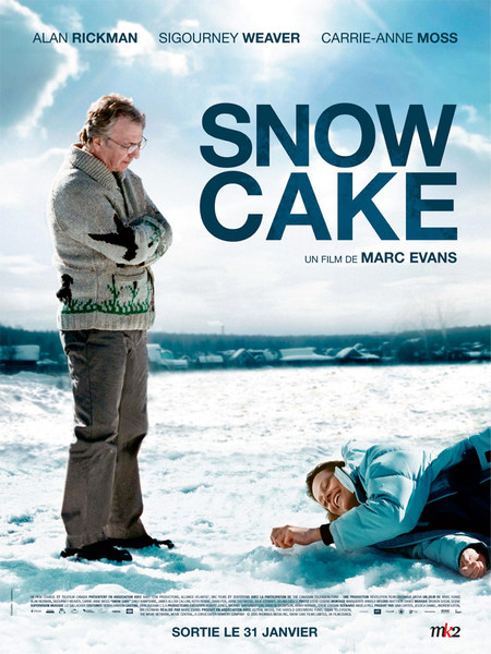 affiche du film Snow Cake