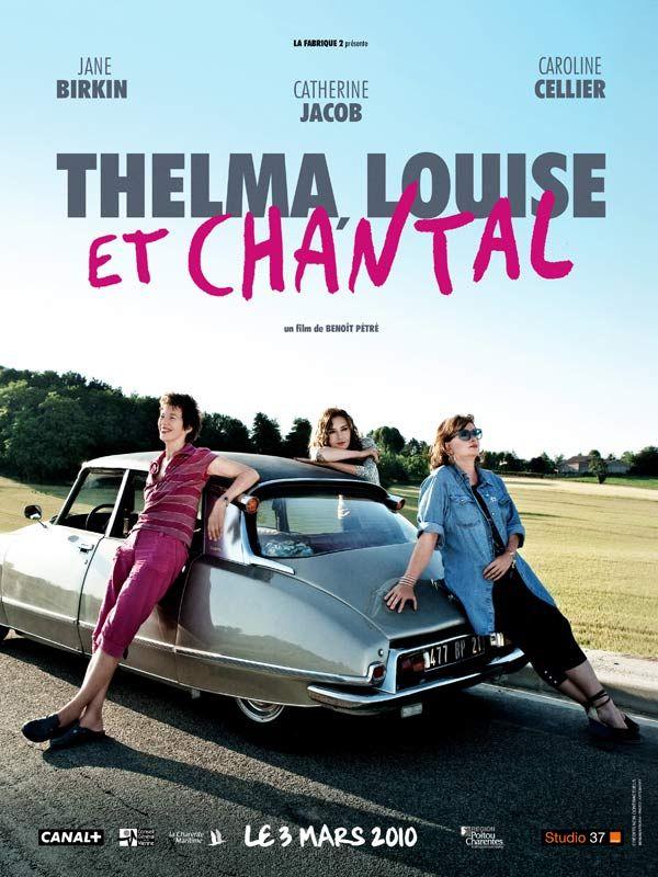 affiche du film Thelma, Louise et Chantal