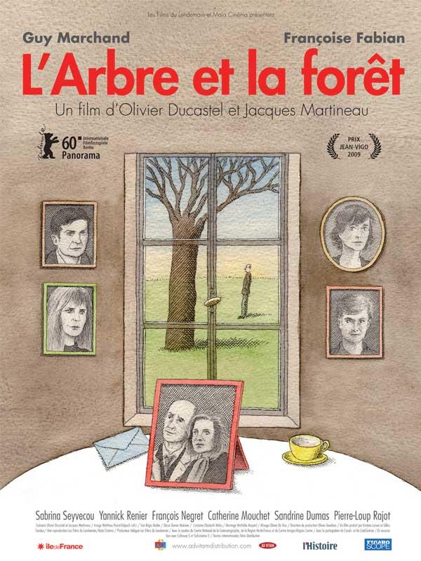 affiche du film L'arbre et la forêt