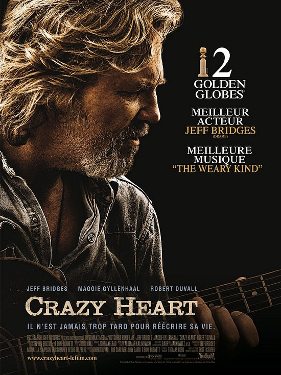 affiche du film Crazy Heart