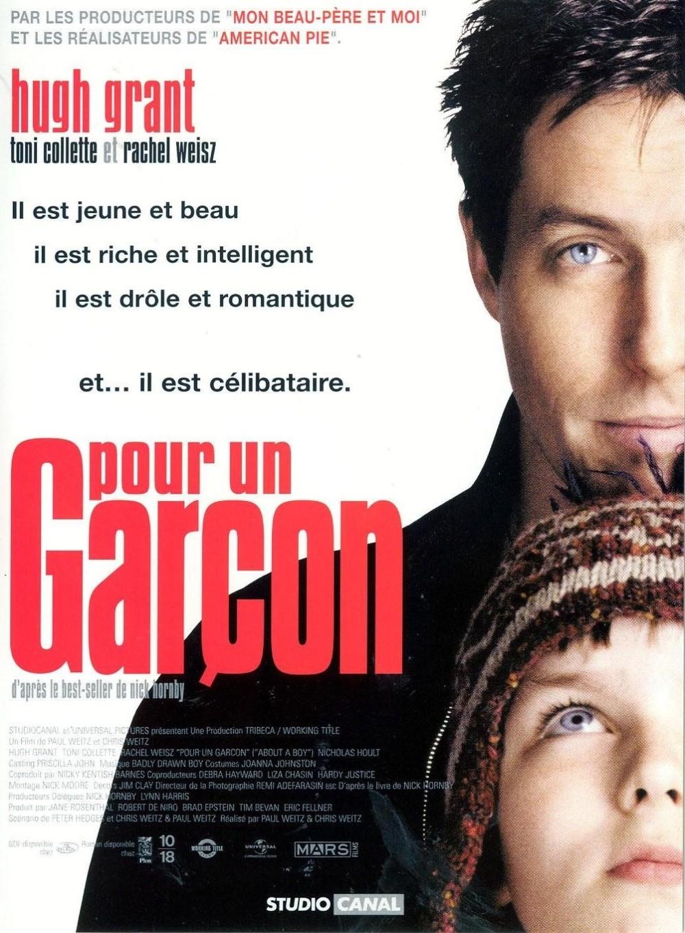 affiche du film Pour un garçon