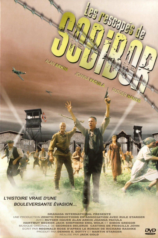 affiche du film Les Rescapés de Sobibor (TV)