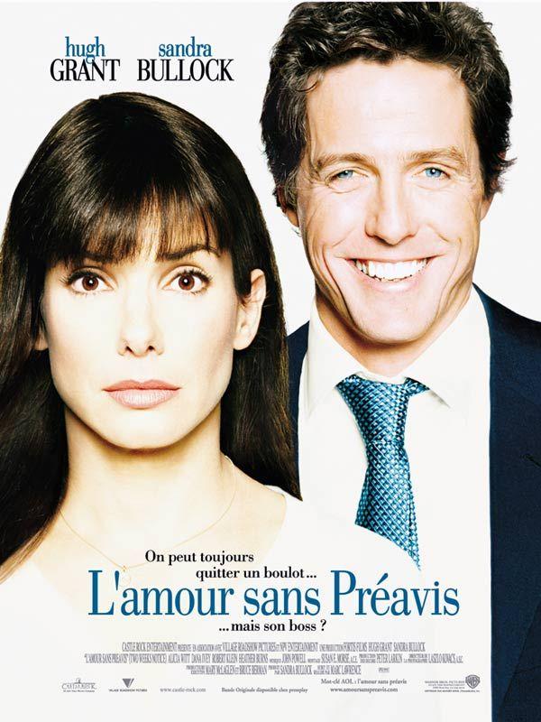 affiche du film L'amour sans préavis