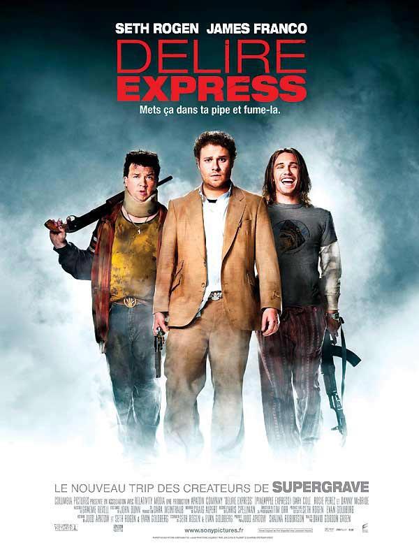 affiche du film Délire Express