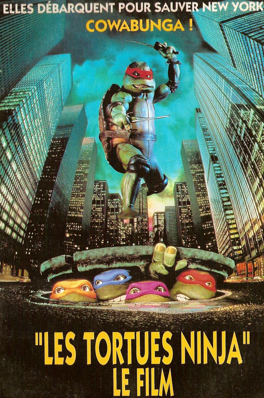 affiche du film Les Tortues Ninja