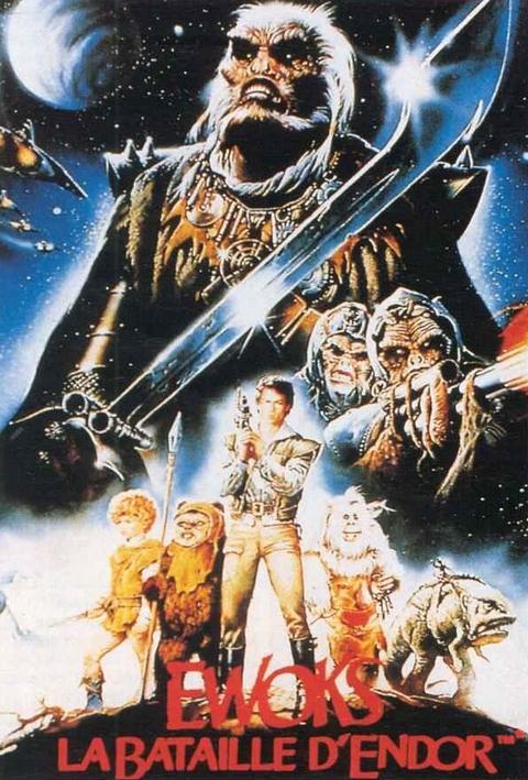 affiche du film Star Wars : Les Aventures des Ewoks - La Bataille pour Endor